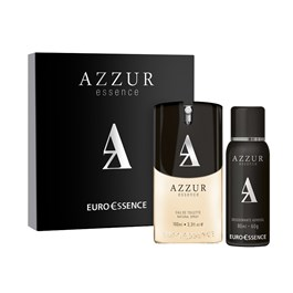 Kit Euro Essence Masculino Azzur