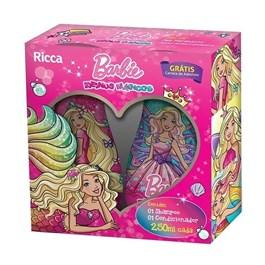 Kit Infantil Shampoo + Condicionador Ricca Barbie 250 ml Cada Reinos Mágicos