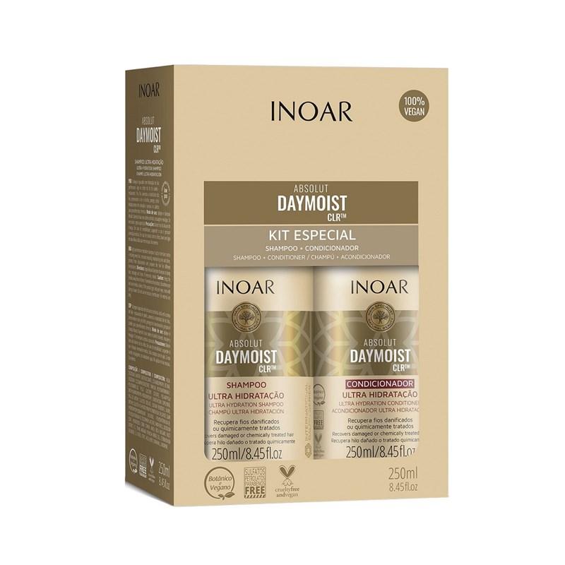 Kit Inoar Absolut Shampoo + Condicionador 250 ml cada Day Moist CLR