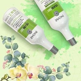 Kit Inoar Shampoo + Condicionador 1000 ml Cada CicatriFios