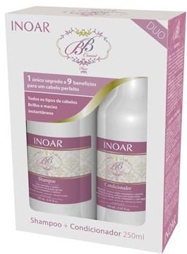 Kit Inoar Shampoo + Condicionador 250 ml cada BB Cream