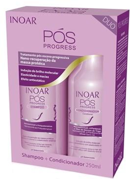 Kit Inoar Shampoo + Condicionador 250 ml cada Pós Progress