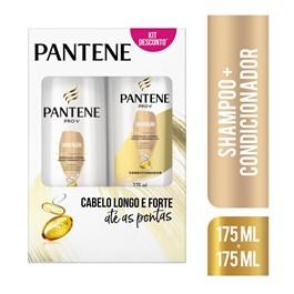 Kit Pantene Hidratação Shampoo e Condicionador 175ml
