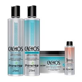 Kit Prime Hair Concept Cachos Grátis Sérum Finalizador