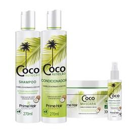 Kit Prime Hair Concept Coco Nutrição Grátis Sérum Finalizador
