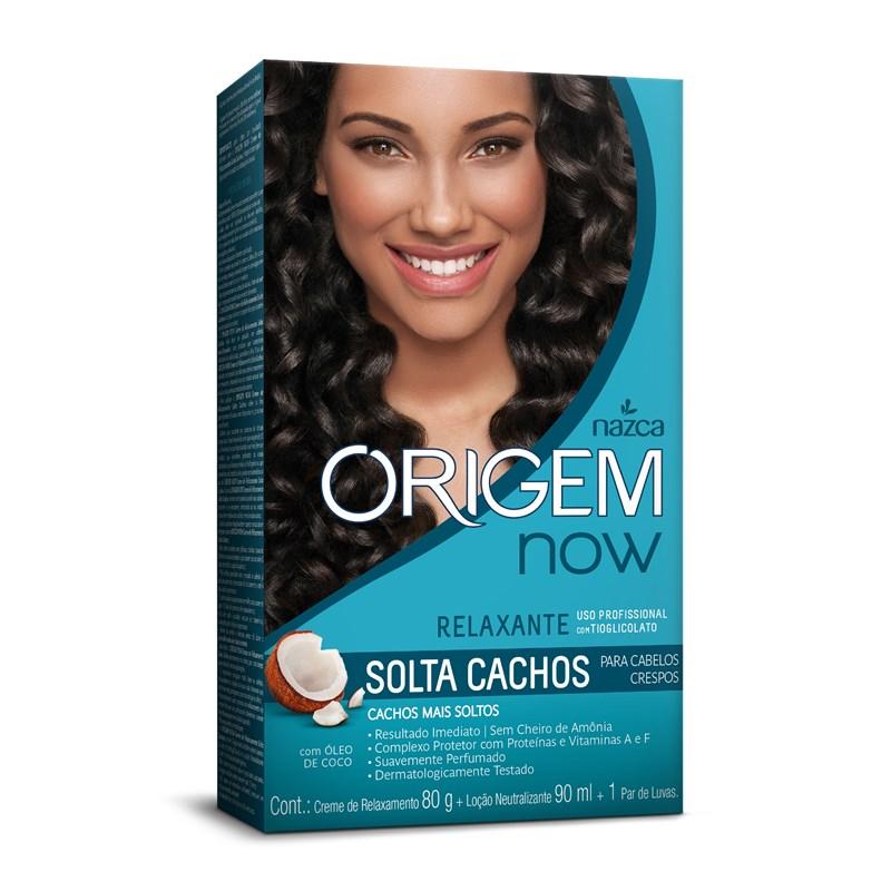 Kit Relaxante Origem Now Solta Cachos
