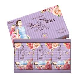Kit Sabonete Alma de Flores 130 gr Cada Essência de Baunilha