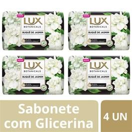 Kit Sabonete Barra Lux Botanicals 85 gr Buquê de Jasmim 4 unidades