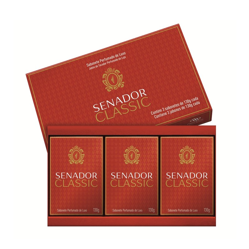 Kit Sabonete Senador 130 gr Cada Classic