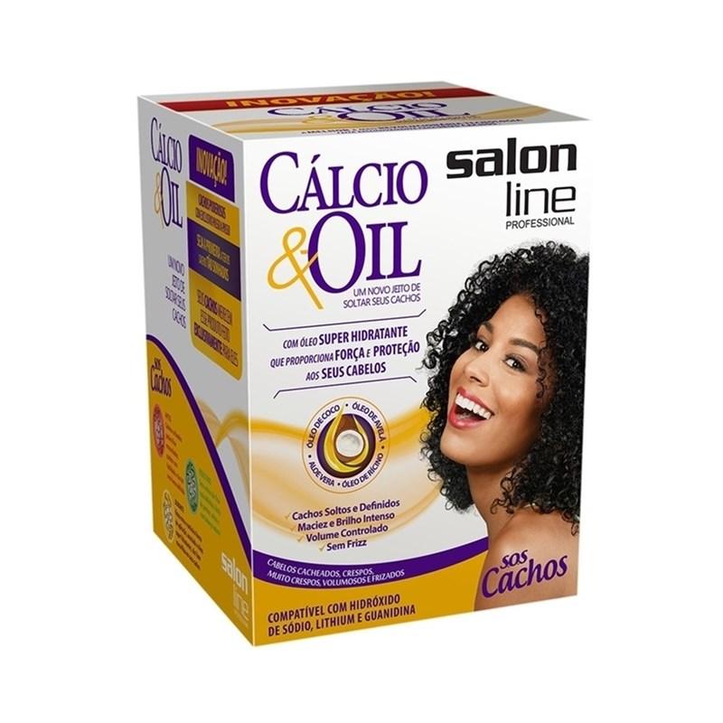 Kit Salon Line Cálcio & Oil Guanidina
