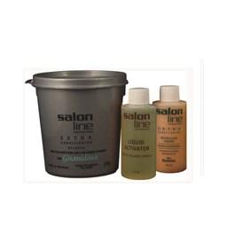 Kit Salon Line Guanidina Extra Conditioning 218 gr Regular Cabelos Medios ou Finos