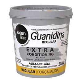 Kit Salon Line Guanidina Extra Conditioning 218 gr Regular Cabelos Médios ou Finos