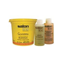 Kit Salon Line Guanidina Manga 218 gr Regular Cabelos Medios ou Finos