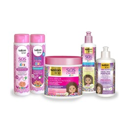 Kit Salon Line S.O.S Cachos Kids