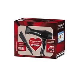 Kit Secador New Smart + Chapa Cerâmica Taiff 127v