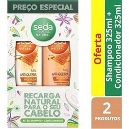 Kit Seda Shampoo + Condicionador 325 ml Mel Anti-Quebra