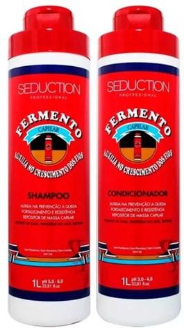 Kit Seduction Shampoo + Condicionador 1000 ml Cada Fermento