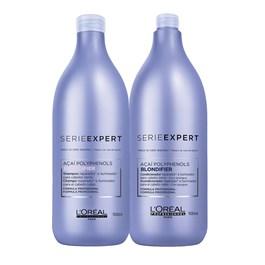 Kit Serie Expert Blondifier Gloss Shampoo + Condicionador Salão
