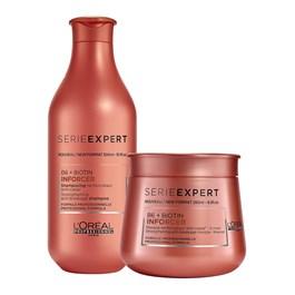 Kit Serie Expert Inforcer Shampoo + Máscara