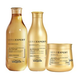 Kit Serie Expert Nutrifier Shampoo + Condicionador + Máscara