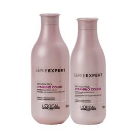 Kit Serie Expert Vitamino Color Resveratrol Shampoo + Condicionador