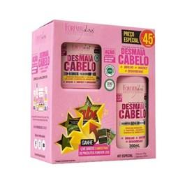 Kit Shampoo 200 ml + Mascara 300 gr Forever Liss Desmaia Cabelo