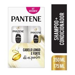 Kit Shampoo 350 ml + Condicionador 175 ml Pantene Hidro-Cauterização