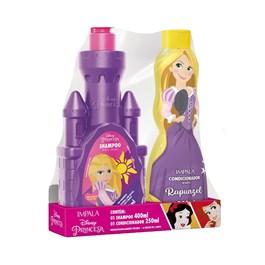 Kit Shampoo 400 ml + Condicionador 250 ml Impala Princesas Rapunzel