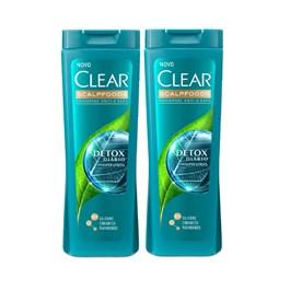 Kit Shampoo Clear 200 ml Detox Diário