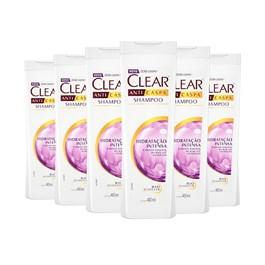 Kit Shampoo Clear Scalpfoods 200 ml Detox Pró Crescimento Leve 03 Pague 02
