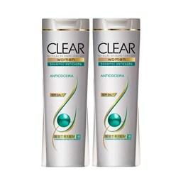 Kit Shampoo Clear Women 200 ml Anticaspa