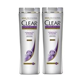 Kit Shampoo Clear Women 200 ml Hidratação Intensa