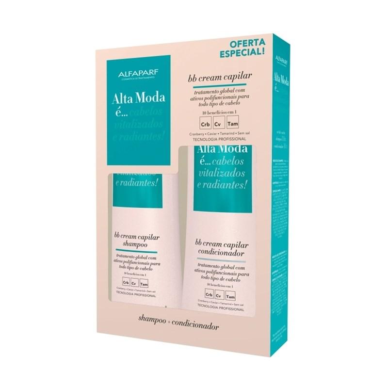 Kit Shampoo + Condicionador Alta Moda 300 ml Cada BB Cream