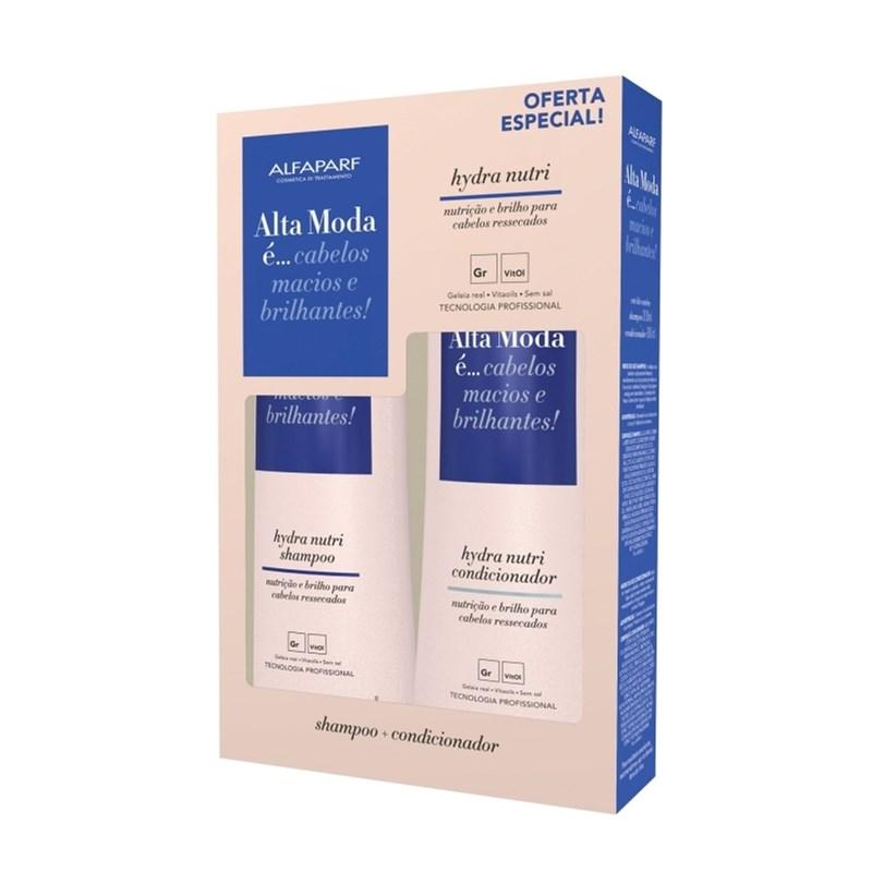 Kit Shampoo + Condicionador Alta Moda 300 ml Cada Hydra Nutri