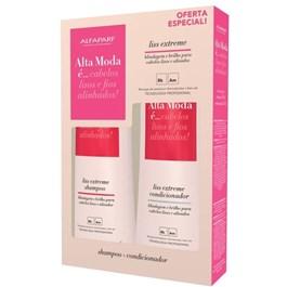 Kit Shampoo + Condicionador Alta Moda 300 ml Cada Liss Extreme