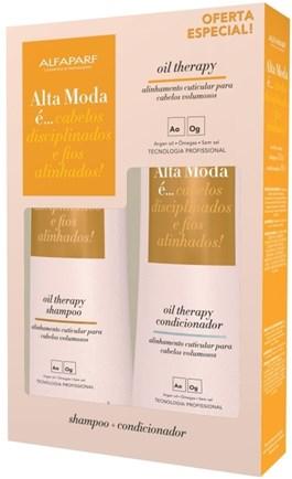 Kit Shampoo + Condicionador Alta Moda 300 ml Cada Oil Therapy