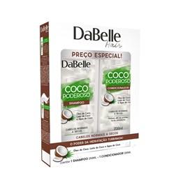 Kit Shampoo + Condicionador DaBelle Hair Coco Poderoso
