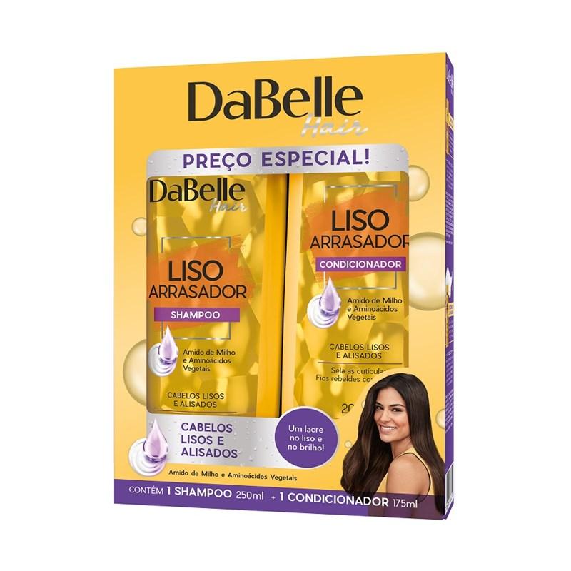 Kit Shampoo + Condicionador DaBelle Hair Liso Arrasador