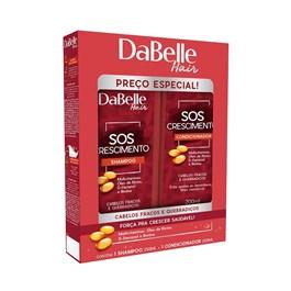 Kit Shampoo + Condicionador DaBelle Hair SOS Crescimento