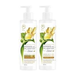 Kit Shampoo + Condicionador Dove Poder das Plantas 300 ml Purificação + Gengibre