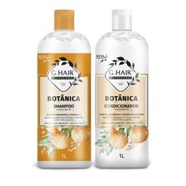 Kit Shampoo + Condicionador G.Hair Botânica 1 Litro Cabelos Mistos