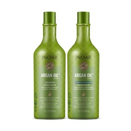 Kit Shampoo + Condicionador Inoar 1000 ml Cada Argan