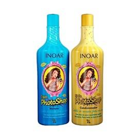 Kit Shampoo + Condicionador Inoar 1000 ml Cada Efeito PhotoShop