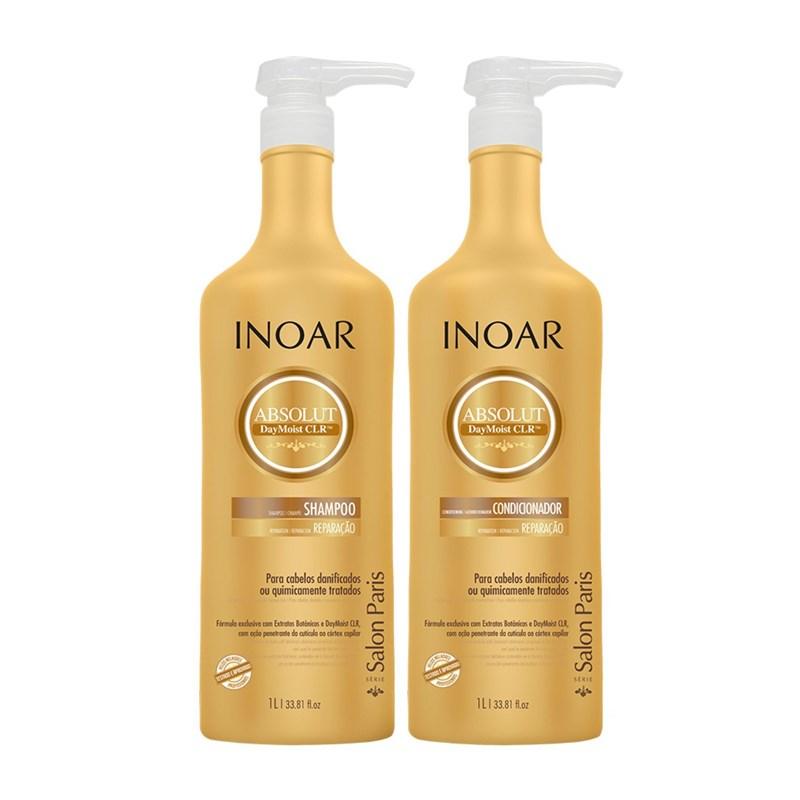 Kit Shampoo + Condicionador Inoar Daymoist CLR 1000 ml Cada