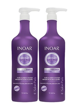 Kit Shampoo + Condicionador Inoar Speed Blond 1000 ml Cada