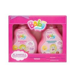 Kit Shampoo + Condicionador Muriel Baby Menina 100 ml Cada