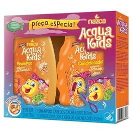 Kit Shampoo + Condicionador Nazca  Acqua Kids 400 ml Cada Cabelos Cacheados
