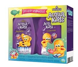Kit Shampoo + Condicionador Nazca  Acqua Kids 400 ml Cada Tutti Frutti