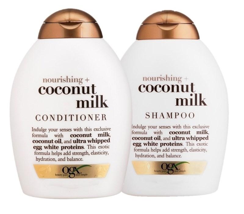 Kit Shampoo + Condicionador OGX 385 ml cada Coconut Milk