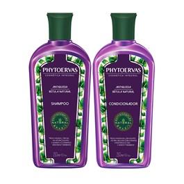 Kit Shampoo + Condicionador Phytoervas 250 ml Antiqueda